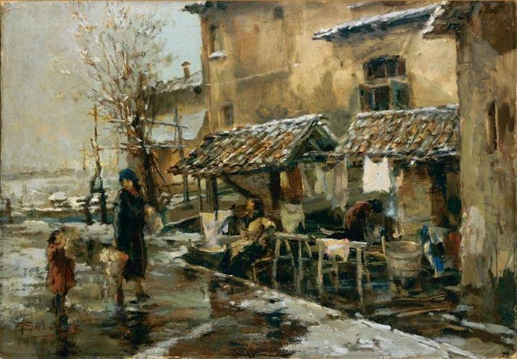 GIUSEPPE SOLENGHI (MILANO 1879 - CERNOBBIO 1944)