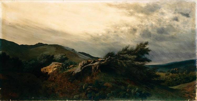 ANTONINO LETO (MONREALE 1844 - CAPRI 1913