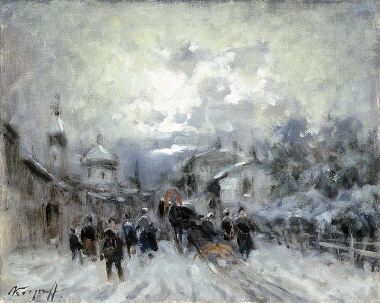 IVAN KARPOFF (NOVOCERKASK 1898 - MILANO 1970) IL MERCATO RUSSO