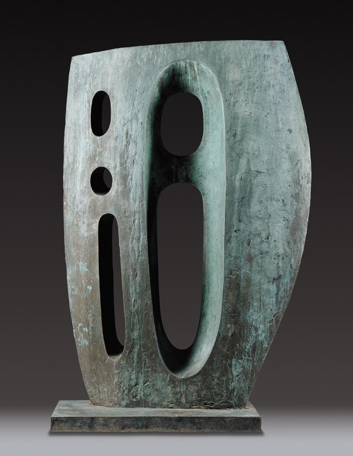 DAME BARBARA HEPWORTH 1903-1975 SEA FORM (ATLANTIC)