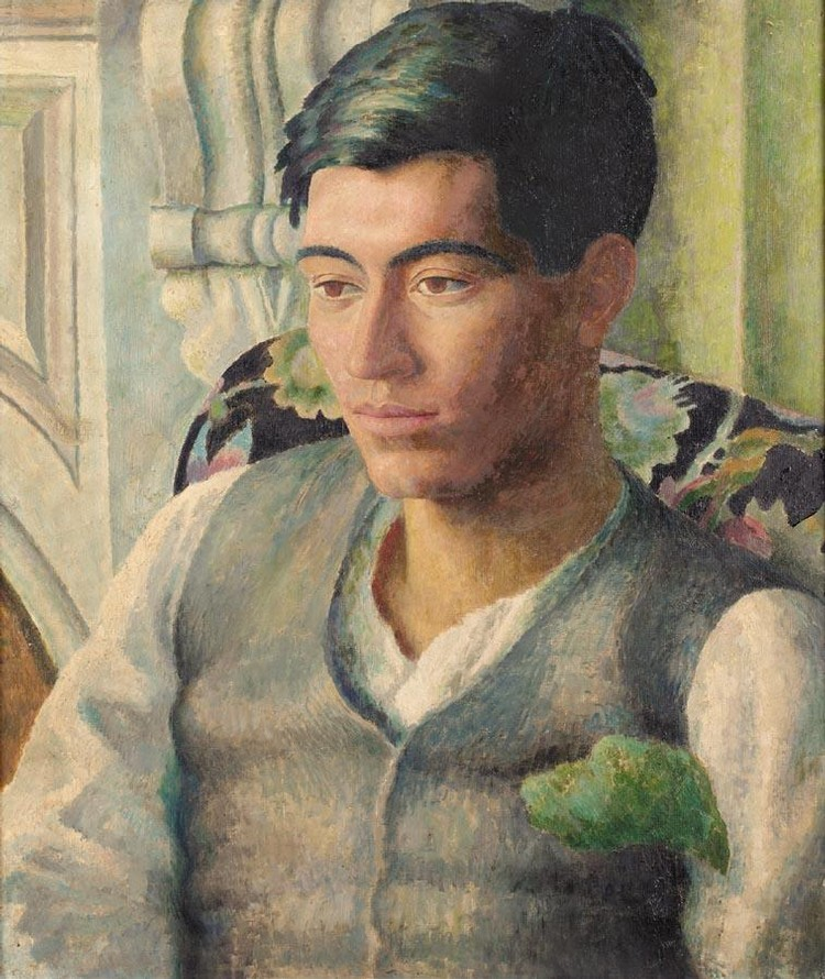 DORA CARRINGTON 1893-1932 PORTRAIT OF FRANK PREWETT