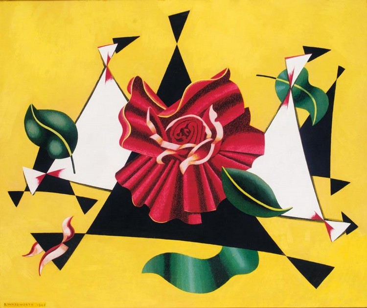 PROPERTY OF THE ESTATE OF THE LATE DAVID ENDERS EDWARD WADSWORTH, A.R.A. 1889-1949 FLOWERPIECE,