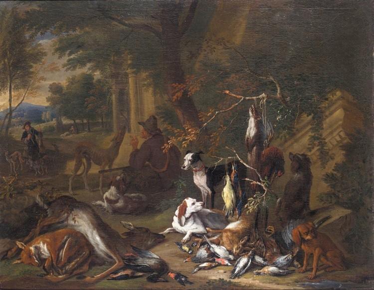 ADRIAEN DE GRYEF ANTWERP 1670 - 1715 BRUSSELS