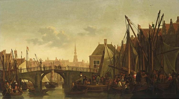 ABRAHAM PIETERSZ. VAN CALRAET DORDRECHT 1642 - 1722