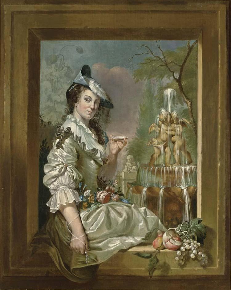 JAN STOLKER AMSTERDAM 1724 - 1785 ROTTERDAM