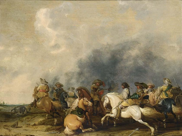 PALAMEDES PALAMEDESZ., CALLED STEVAERTS LONDON 1607 - 1638 DELFT