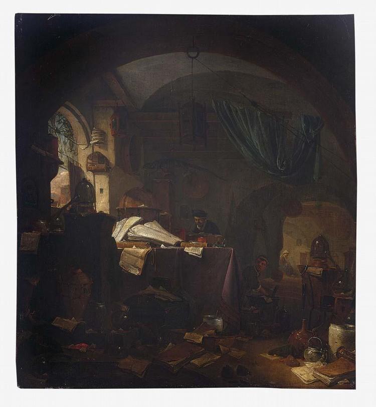 THOMAS WIJCK BEVERWIJK CIRCA 1616 - 1677 HAARLEM