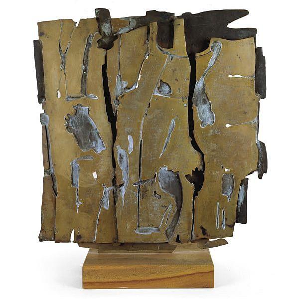 Pietro Consagra , 1920-2005 Impronta Solare bronze