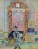 ILYA SCHOR | Man before the Holy Ark, Ilya Schor, Click for value