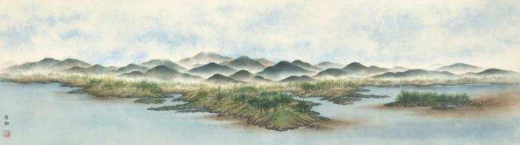 AN HE (AN HO, B.1927) | Scenery of Jiangnan