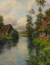 LOUIS ASTON KNIGHT | La Risle a la Heronniere, Normandy