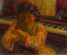 JOHN SLOAN | Girl, Back to the Piano