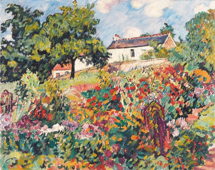 PROPERTY FROM A PRIVATE FRENCH COLLECTION LOUIS VALTAT 1869-1952 CHOISEL
