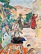 Edouard-Léon-Louis Legrand, dit Edy Legrand Bordeaux 1892 - Bonnieux 1970 , Assemblée de femmes sur une terrasse Edy Legrand ; women on a terrace ; oil on cardboard ; signed lower right Huile sur carton, Edouard-Léon-Louis Edy-Legrand, Click for value