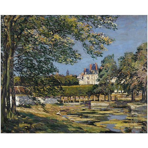 Alexander Jamieson , 1873-1937 fountainebleau oil on canvas