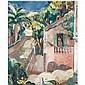 Anne Estelle Rice , 1877-1959 the road, cap d'antibes oil on canvas   , Anne Estelle Rice, Click for value