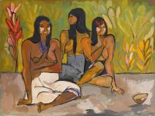 OSWALDO GUAYASAMÍN<BR>(1919-1999) | Three Women