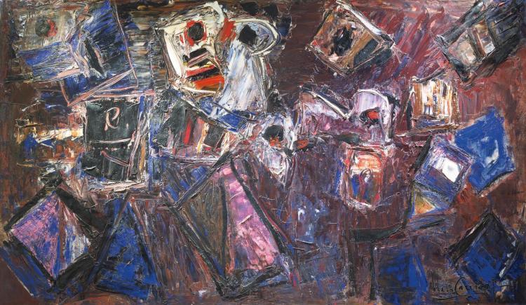 IBERÊ CAMARGO<BR>(1914-1994) | Sem título