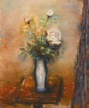 REUVEN RUBIN | The White Rose
