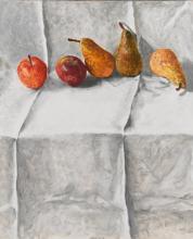 AVIGDOR ARIKHA | Two Apples and Three Pears
