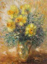 REUVEN RUBIN | Daffodils