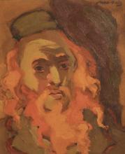 MANÉ-KATZ | Rabbi with Red Hair