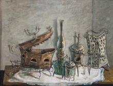 YOSL BERGNER | Still Life with Lamp