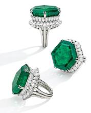 Magnificent Jewels Including the Legendary Stotesbury Emerald