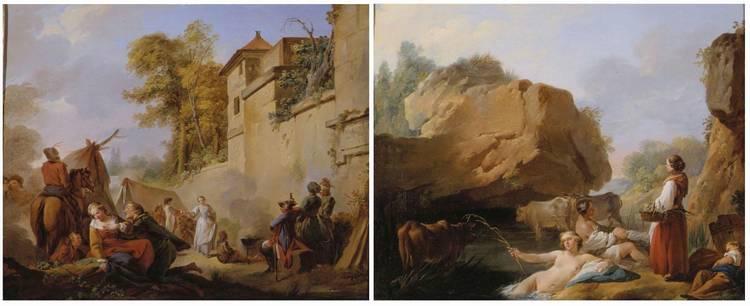 *JEAN-BAPTISTE MARIE PIERRE (1713-1789)
