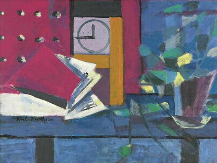 3 - KARL KNATHS 1891-1971 THE CLOCK