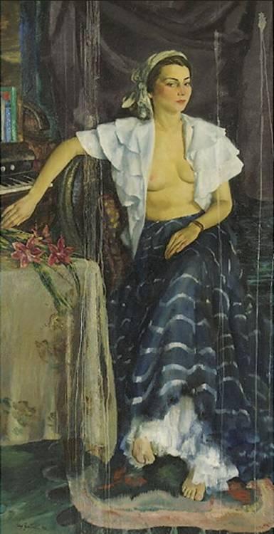 JERRY FARNSWORTH 1895-1983 CALYPSO