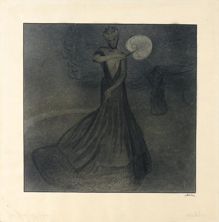 ALFRED KUBIN 1877-1959 DER PRINZ VON SIAM (THE PRINCE OF SIAM)