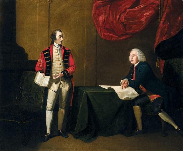 BENJAMIN WILSON 1721-1788