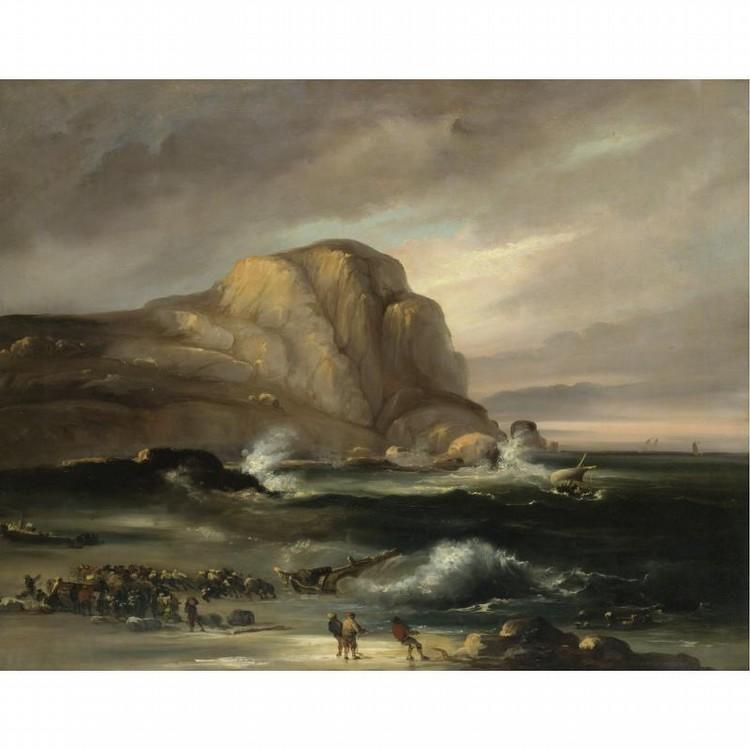 JENARO PÉREZ VILLAAMIL EL FERROL 1807-MADRID 1854
