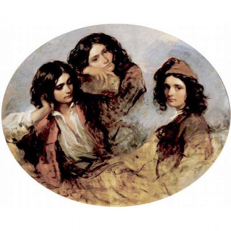 RICHARD BUCKNER 1812-1883 ROMANTIC YOUTH