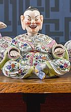 A MEISSEN FIGURE OF A NODDING PAGODA<BR>LATE 19TH CENTURY |