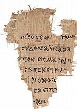'SOUVENIR' FACSIMILE OF THE RYLANDS FRAGMENT OF THE GOSPEL OF ST JOHN, IN GREEK [UNKNOWN, 19TH OR 20TH CENTURY]