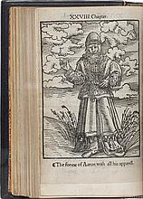THE FIRSTE BOKE OF MOSES CALLED GENESIS [−FYFTE BOKE OF MOSES CALLED DEUTERONOMYE.]  [ANTWERP: JOHAN HOOCHSTRATEN, 1530]
