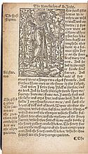 THE NEWE TESTAMENT OF OURE SAUEOUR JESUS CHRIST TRANSLATED BY M. WIL. TYNDALL. [LONDON?], [1549] (BUT ANTWERP, 1536?)