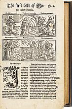 BIBLIA. THE BIBLE, ... FAITHFULLY AND TRULY TRANSLATED OUT OF DOUCHE AND LATYN IN TO ENGLISH. [1535-1536].