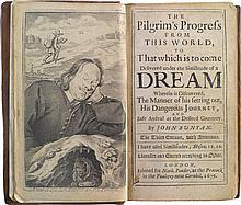 BUNYAN, JOHN. THE PILGRIM'S PROGRESS FROM THIS WORLD, TO THAT WHICH IS TO COME. LONDON, 1679