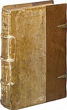 CALVIN, JOHN.  INSTITUTIO TOTIUS CHRISTIANAE RELIGIONIS. GENEVA: J. GERARD, 1550