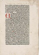 THOMAS À KEMPIS. IMITATIO CHRISTI. [AUGSBURG:] GÜNTHER ZAINER, [NOT AFTER 6 MAY 1473]. GOFF I-4
