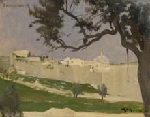 LÉON BONNAT | View of Jerusalem