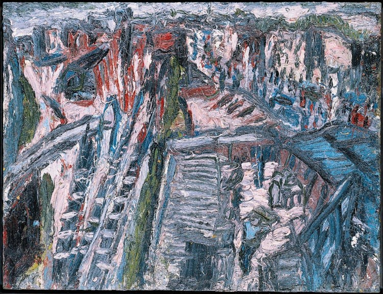 PROPERTY FROM A PRIVATE MIDWEST COLLECTION f,l - LEON KOSSOFF B. 1926 DALSTON JUNCTION, RIDLEY