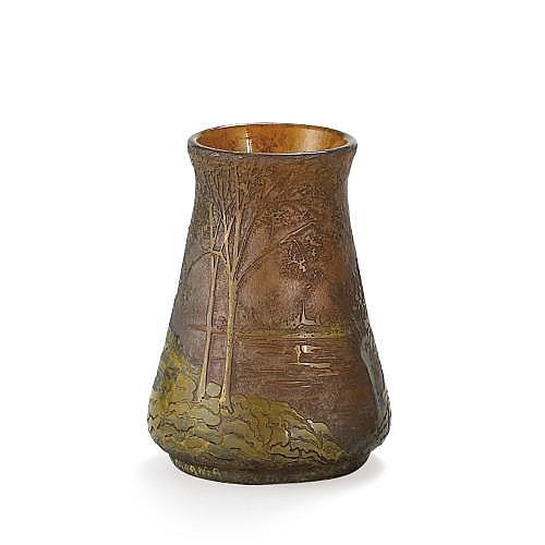 Duc Amédée de Caranza , Vase, vers 1900