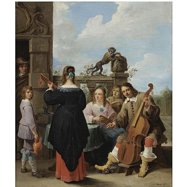 David Teniers the Younger , Antwerp 1610 - 1690 Brussels 