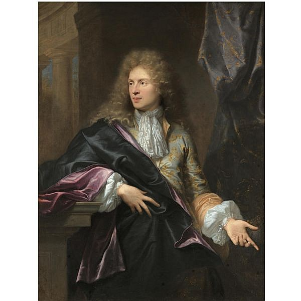 - Hyacinthe Rigaud , Perpignan 1659 - 1743 Paris   Portrait of Pierre-Vincent Bertin (circa1654 - 1711) oil on canvas