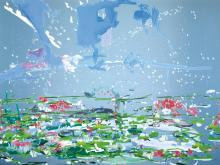 PETRA CORTRIGHT | Metal Canopy Bed