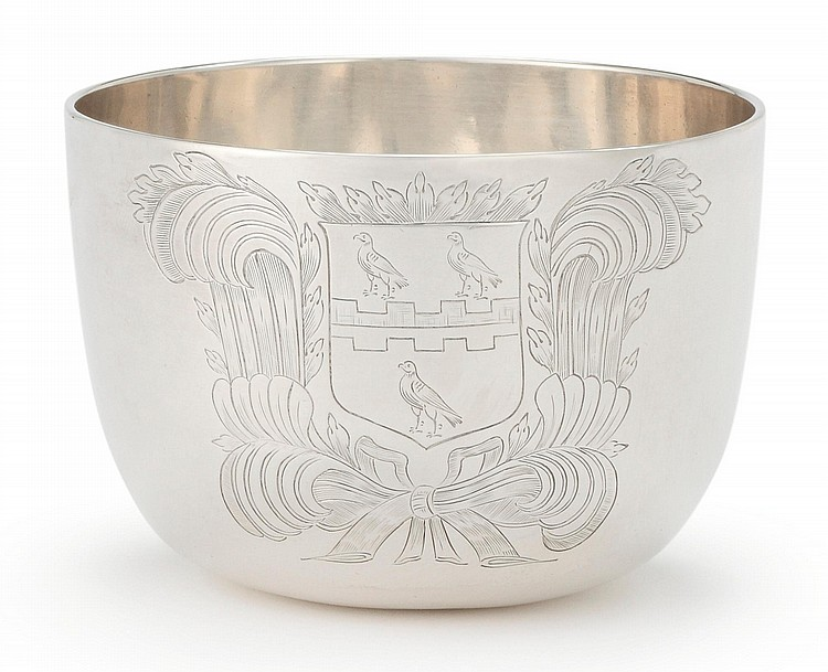 A CHARLES II SILVER TUMBLER CUP, 1683 |